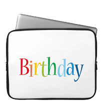 Laptop Sleeve birthday