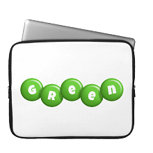 Laptop Sleeve candy-green