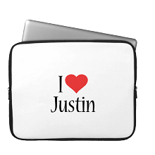 Laptop Sleeve i-love
