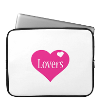 Laptop Sleeve love-heart