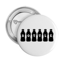 Pinback Buttons bottle
