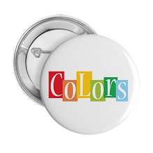 Pinback Buttons colors