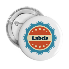 Pinback Buttons labels