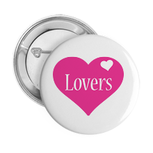 Pinback Buttons love-heart