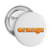 Pinback Buttons orange