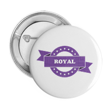 Pinback Buttons royal
