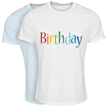 Cool T-shirt birthday