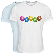 Cool T-shirt candy