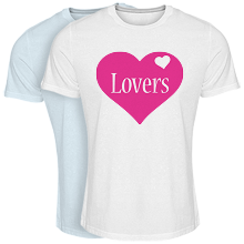 Cool T-shirt love-heart