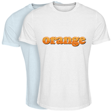 Cool T-shirt orange